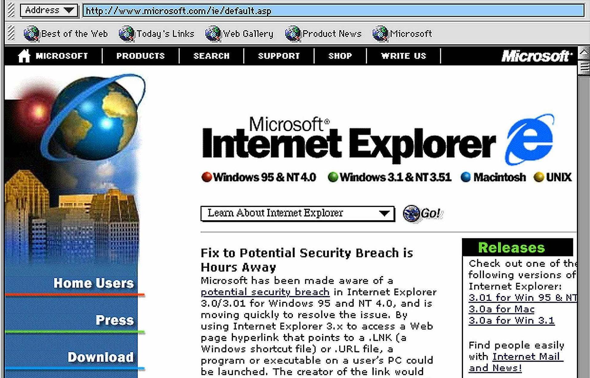 La fin officielle d'Internet Explorer